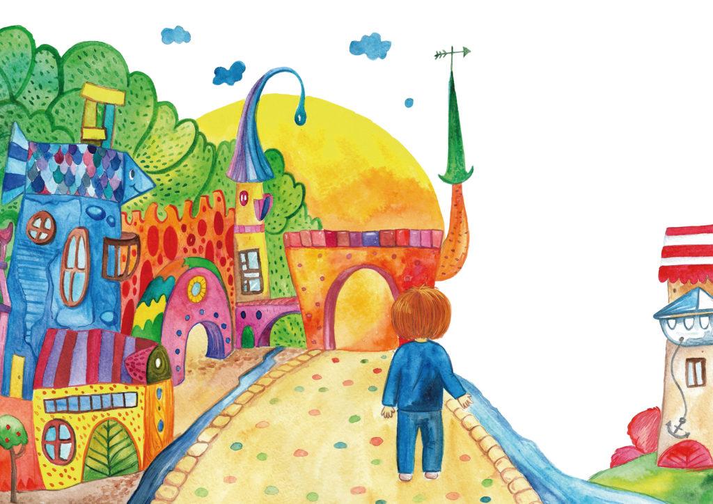 Иллюстрация к сказке сонолики.