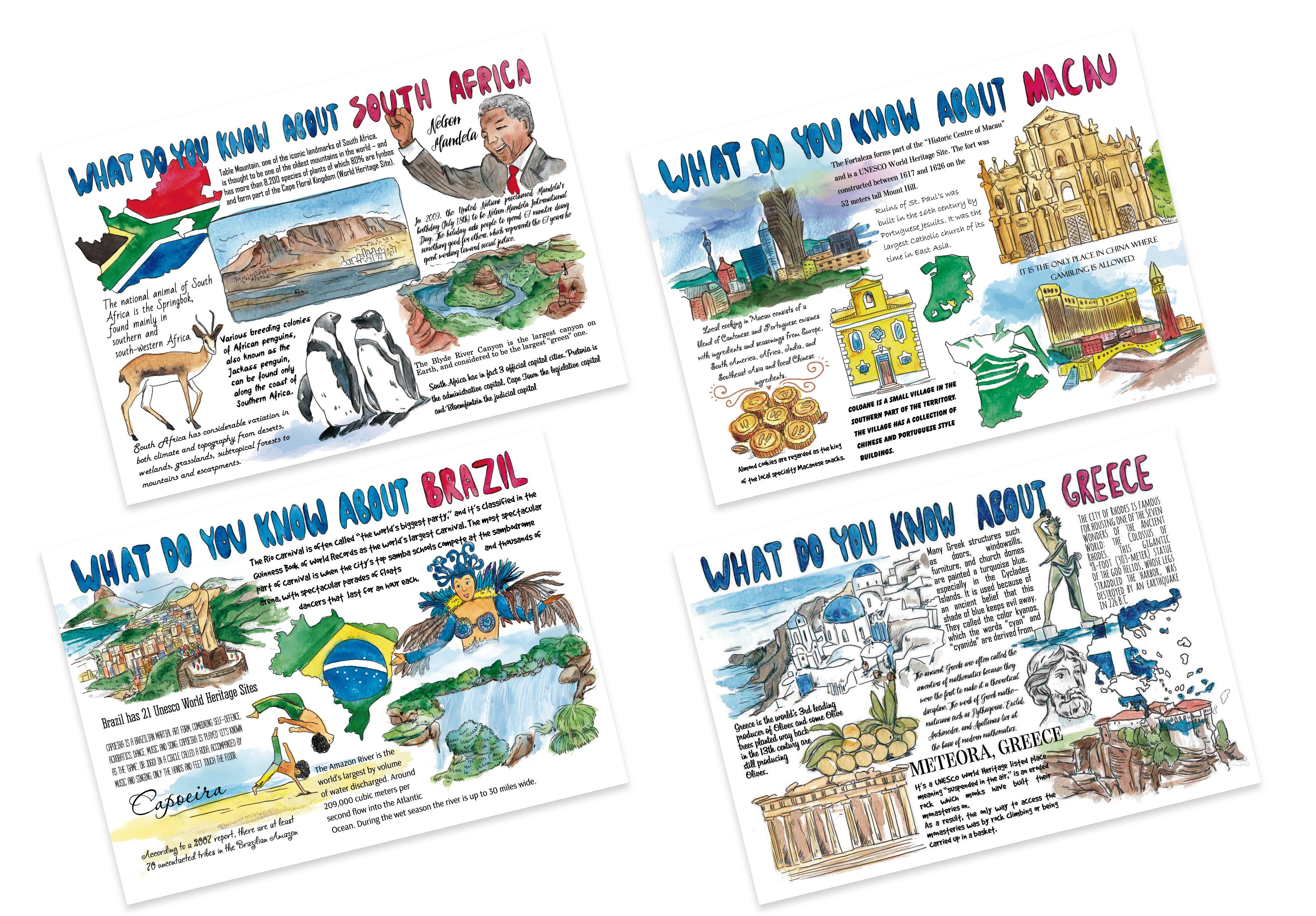 открытки о странах мира