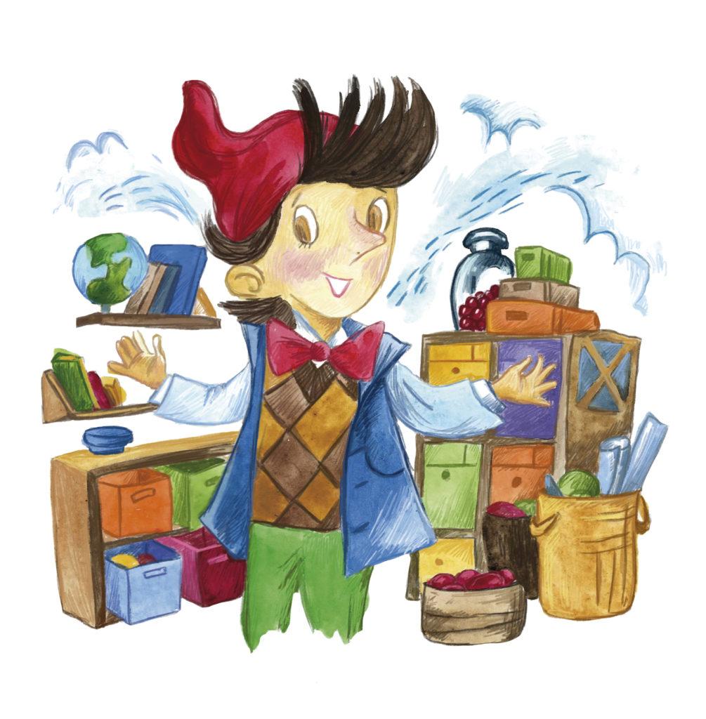 Фрагмент иллюстрации из книги
