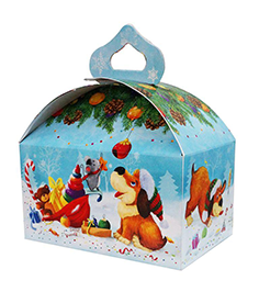 Иллюстрации и дизайн новогодней упаковки