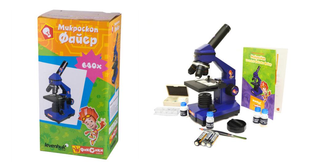Упаковка для микроскопа