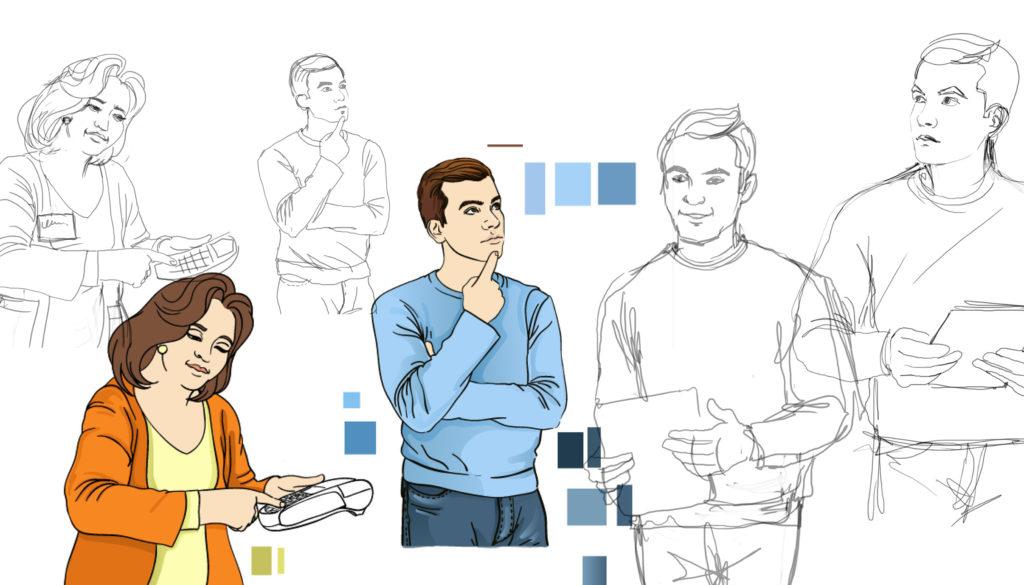 эскиз иллюстрации для анимации