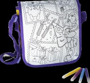 Рюкзак-раскраска